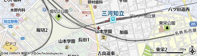 新月堂 予約受付周辺の地図