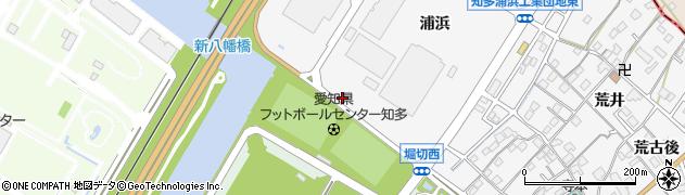 愛知県知多市八幡(浦浜新田)周辺の地図