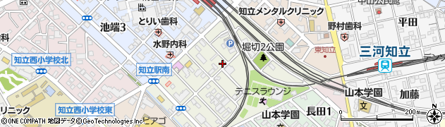 パークサイド周辺の地図