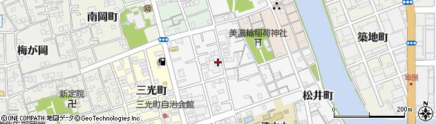 静岡県静岡市清水区八千代町周辺の地図