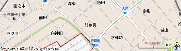 愛知県東海市養父町(竹ケ鼻)周辺の地図