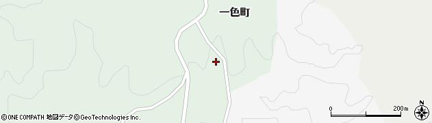 愛知県岡崎市一色町(長木)周辺の地図