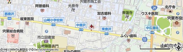 篠陽タクシー有限会社周辺の地図