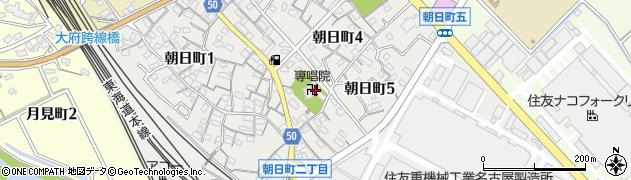 専唱院周辺の地図