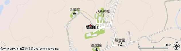愛知県岡崎市真福寺町(薬師山)周辺の地図