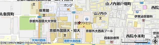 京都府京都市右京区山ノ内池尻町周辺の地図