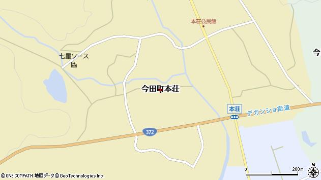 〒669-2163 兵庫県丹波篠山市今田町本荘の地図