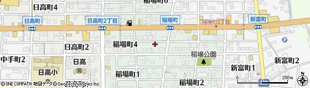 愛知県刈谷市稲場町周辺の地図
