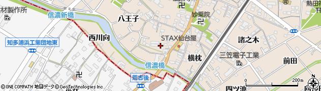 愛知県東海市養父町(島ノ内)周辺の地図