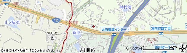 宅配クック123大府東海店周辺の地図