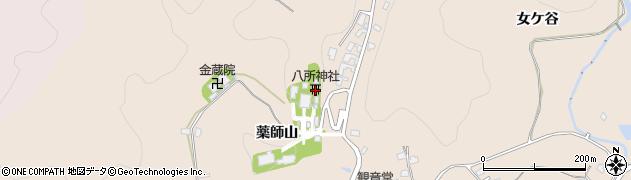 愛知県岡崎市真福寺町薬師山周辺の地図
