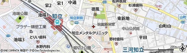 ラウンジ楊貴妃周辺の地図