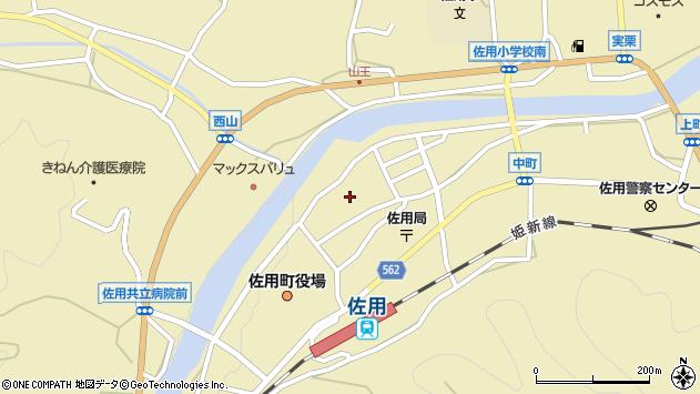 〒679-5301 兵庫県佐用郡佐用町佐用の地図