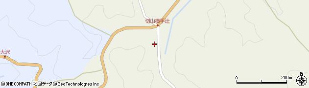 愛知県岡崎市切山町(横手)周辺の地図