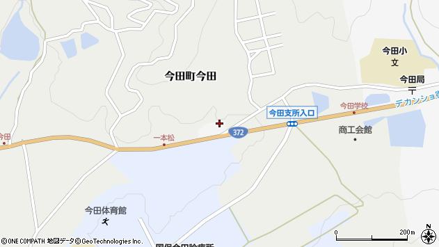 〒669-2152 兵庫県丹波篠山市今田町荻野分の地図