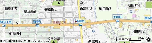 愛知県刈谷市新富町周辺の地図