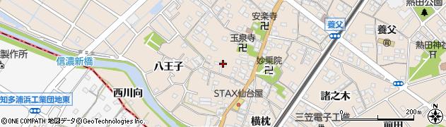 愛知県東海市養父町(浅間前)周辺の地図