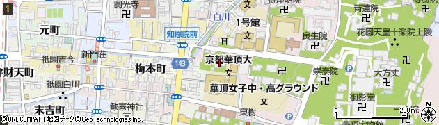 入信院周辺の地図