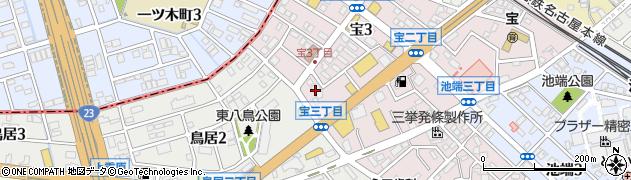 和食酒家縁周辺の地図