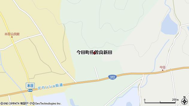 〒669-2156 兵庫県丹波篠山市今田町佐曽良新田の地図
