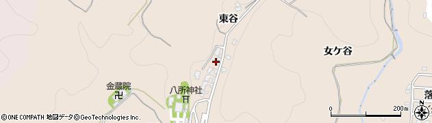 愛知県岡崎市真福寺町(東谷)周辺の地図