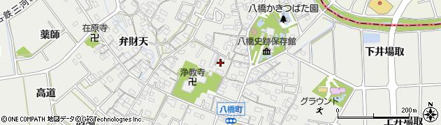 愛知県知立市八橋町(神戸)周辺の地図