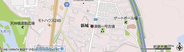 かね成周辺の地図