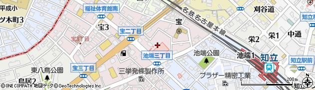 愛知県知立市宝町(石亀)周辺の地図