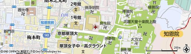 先求院周辺の地図