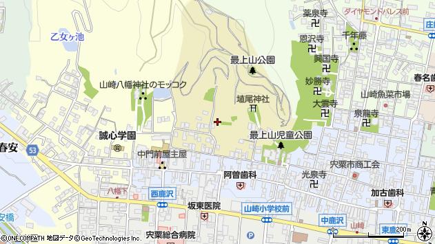 〒671-2578 兵庫県宍粟市山崎町元山崎の地図