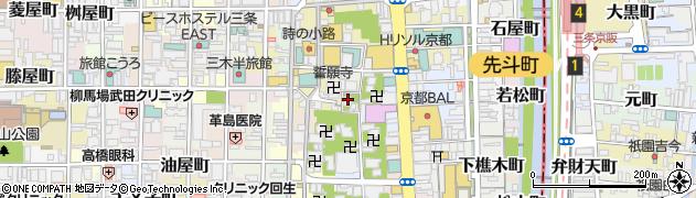 大善寺周辺の地図