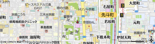 頂源院周辺の地図