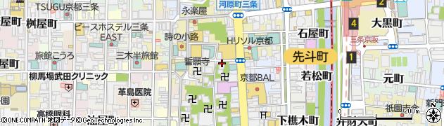 長仙院周辺の地図