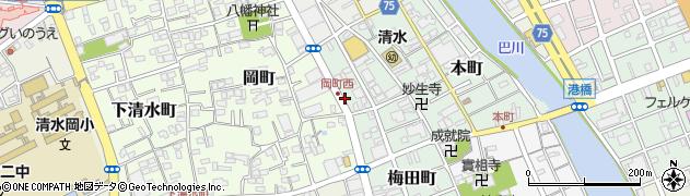 梅田ハイツ周辺の地図