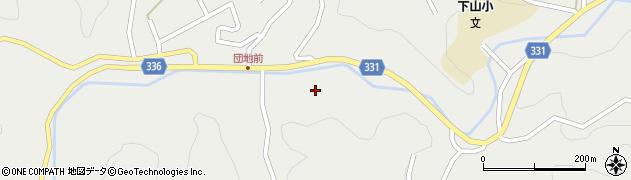 愛知県岡崎市保久町(堀田)周辺の地図