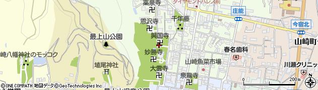 興国寺周辺の地図