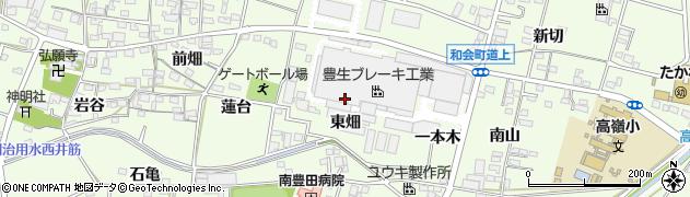 愛知県豊田市和会町(大荒子)周辺の地図