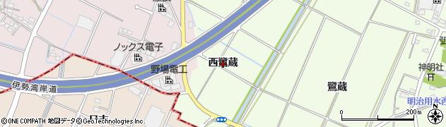 愛知県豊田市和会町(西鷺蔵)周辺の地図