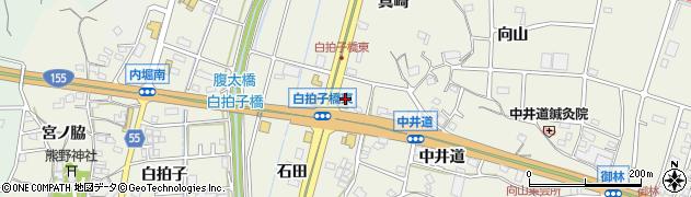 愛知県東海市加木屋町(腹太)周辺の地図