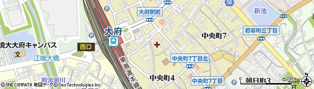 みかど周辺の地図