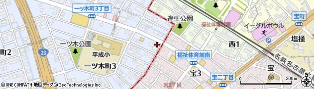らいこう周辺の地図