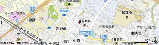 愛知県知立市本町(本)周辺の地図
