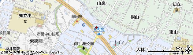 愛知県知立市山町(小林)周辺の地図