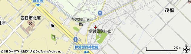三重県四日市市茂福(甲)周辺の地図