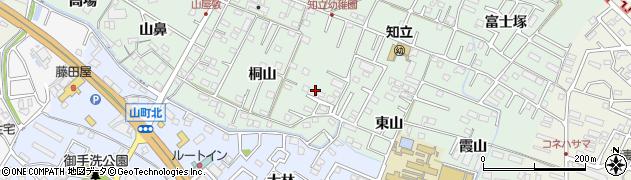 愛知県知立市山屋敷町周辺の地図