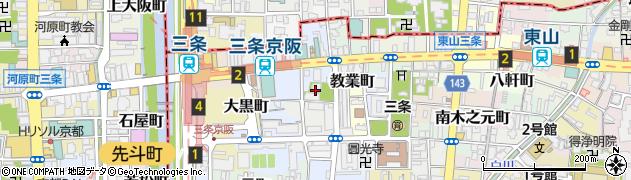 大蔵寺周辺の地図