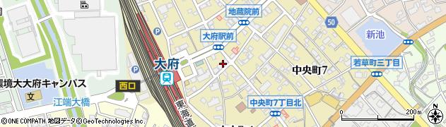 日本料理浜風屋 予約受付周辺の地図