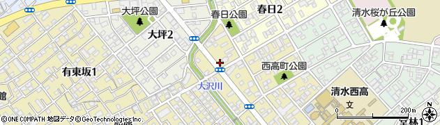 フィオーレ田代周辺の地図