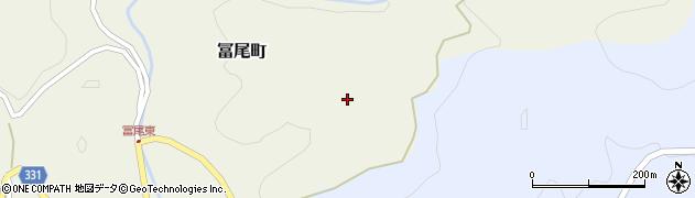 愛知県岡崎市冨尾町(泥芽生)周辺の地図