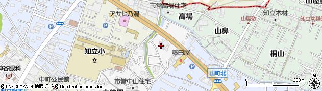 愛知県知立市中山町(神狭間)周辺の地図